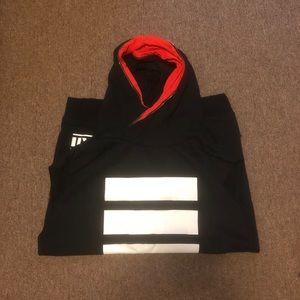 Adidas hoodie cutoff small